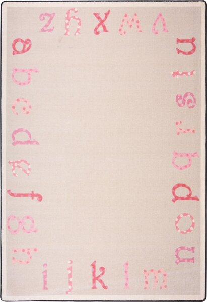Hand-Tufled Pink Area Rug by The Conestoga Trading Co.