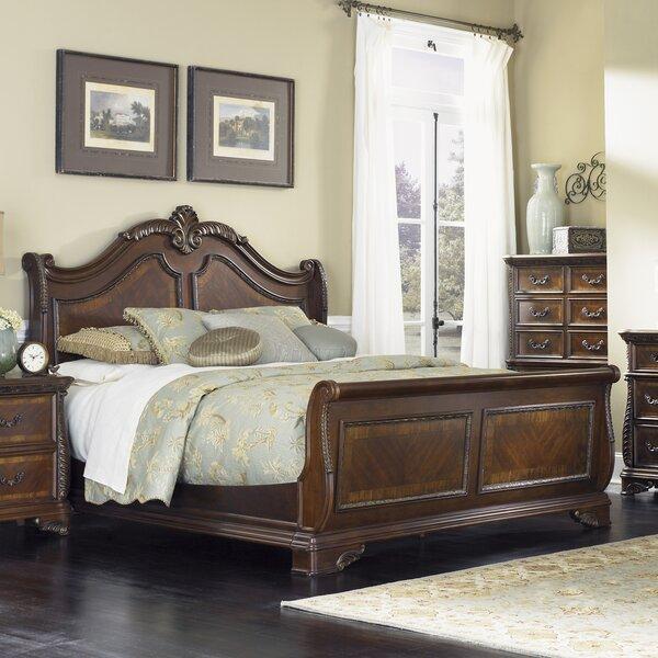 Herlinda Sleigh Bed by Astoria Grand