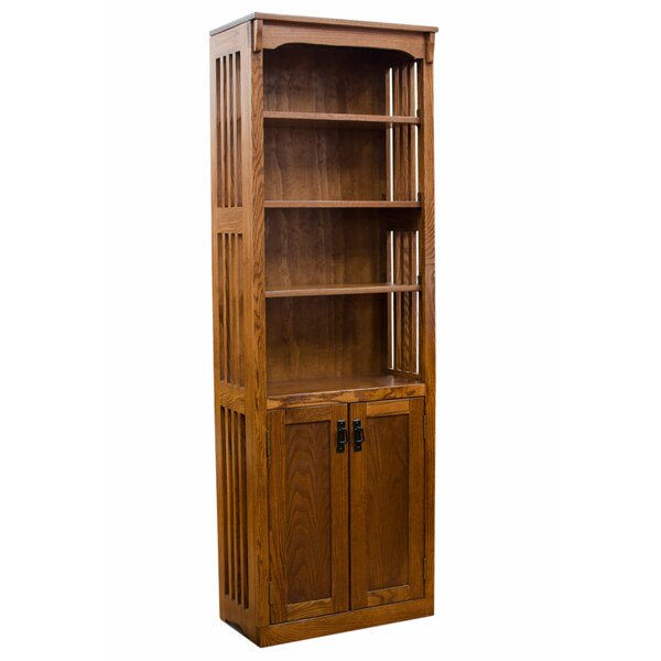 Whittaker Mission Spindle Standard Bookcase by Loon Peak Loon Peak
