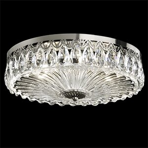 Fontana Luce 3-Light Flush Mount by Schonbek