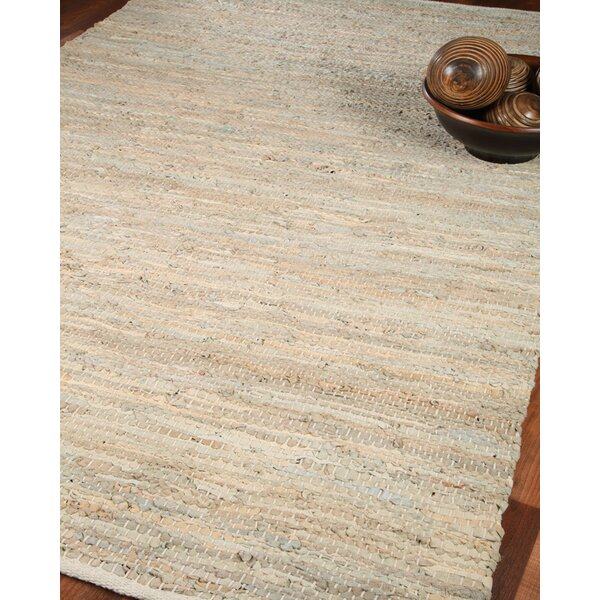 Anchor Leather Hand Loomed Area Rug by Natural Are