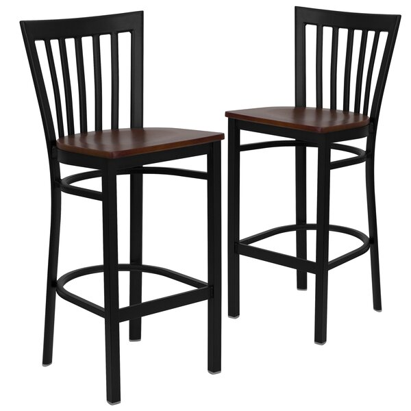 Hannum 29 Bar Stool (Set of 2) by Charlton Home