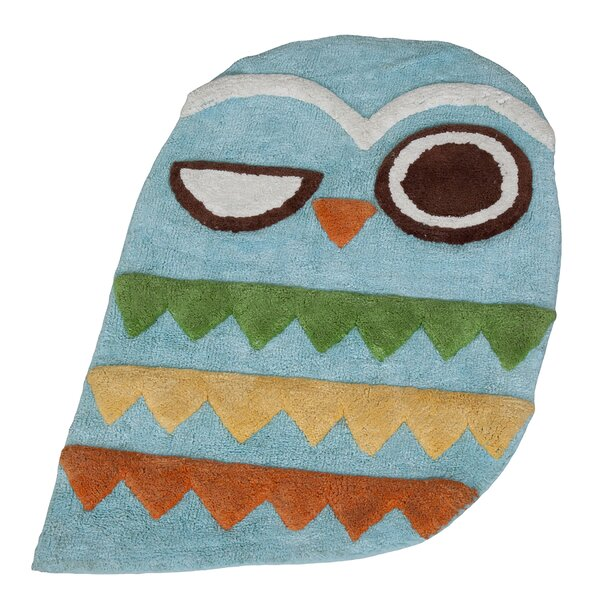 Hepler Hoot Rug by Zoomie Kids