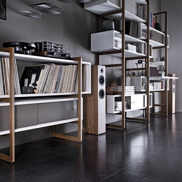 Nolte Kit Decorative Box Bookcase by Brayden Studio