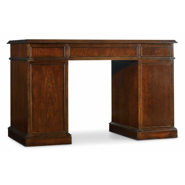 Belle Grove Bow Front Executive Desk by Hooker Furniture