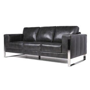 Olivarez Top Grain Leather Standard Sofa