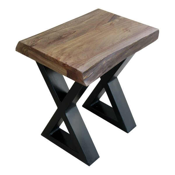 Krysta End Table by Williston Forge