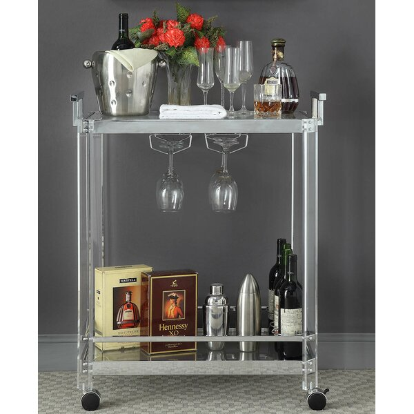 Donnell Bar Cart by Orren Ellis