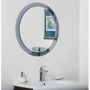 Best Reviews Charles Bathroom Wall Mirror By Decor Wonderland