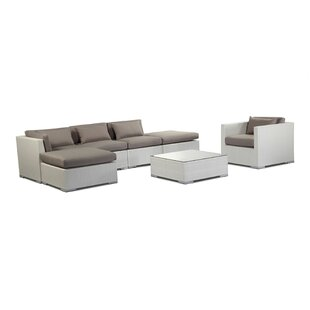 Lanai 7 Piece Sectional Set with Cushions by Kardiel