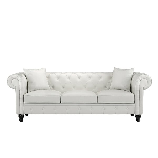Anso Chesterfield Sofa by House of Hampton