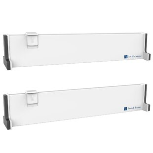 Looking for Expandable Divider 2.24 H x 14.25 W x 2 D Drawer Organizer (Set of 2) ByLavish Home