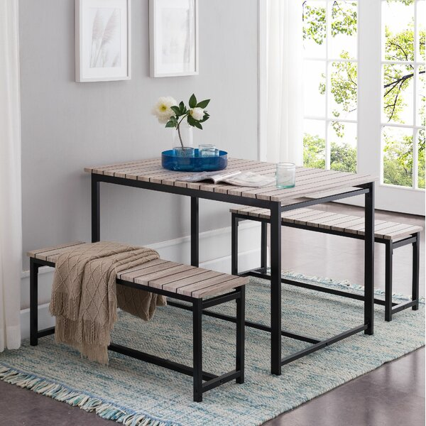 Templeton 3 Piece Dining Set by Union Rustic