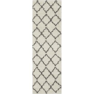 Best Reviews Olhouser Ivory/Charcoal Black Area Rug ByZipcode Design
