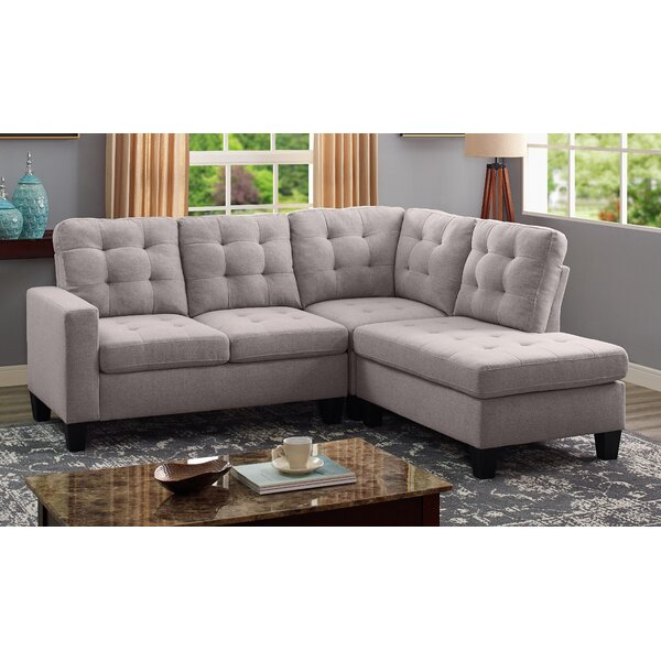 Addilyn Reversible Sectional by Winston Porter