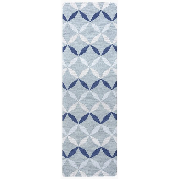 Marlee Hand-Tufted Blue Area Rug by Ivy Bronx