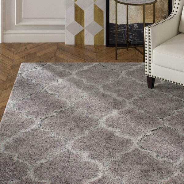 Landis Hand-Tufted Gray Area Rug by House of Hampton