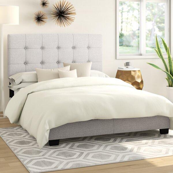 Jayde Upholstered Standard Bed by Ebern Designs