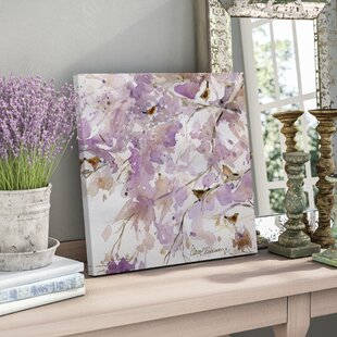 Lavender Spring II Oil Painting Print On Wrapped Canvas