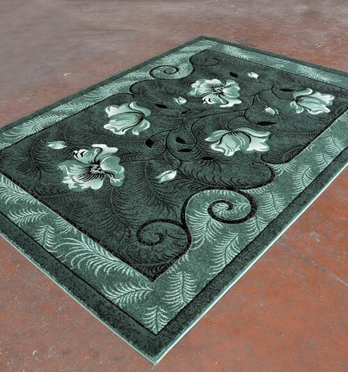 Light Green Area Rug by Rug Tycoon