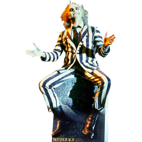Beetlejuice Cardboard Standup by Advanced Graphics