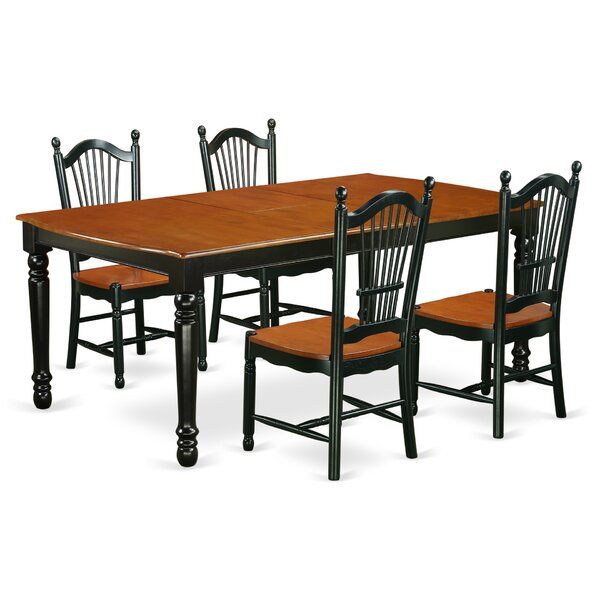 Pimentel Modern 5 Piece Dining Set by August Grove