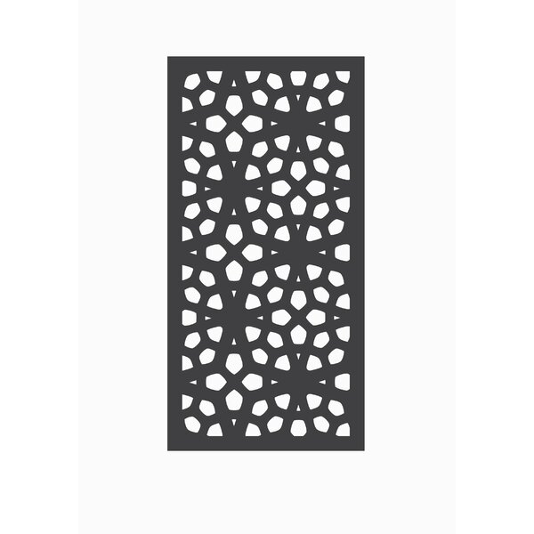 4 ft. H x 2 ft. W Marakesh Fence Panel by OUTDECO