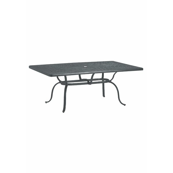 Cast Aluminum Coffee Table by Tropitone