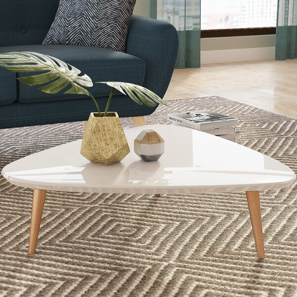 Lemington Coffee Table with Splayed Legs by George Oliver George Oliver