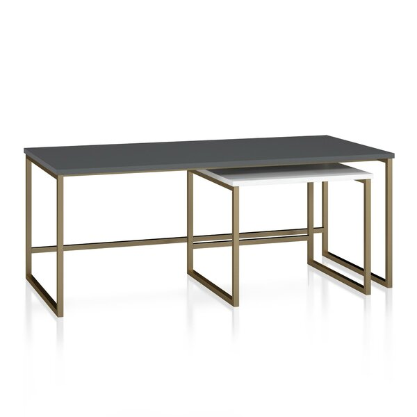 Scarlett 2 Piece Coffee Table Set by CosmoLiving by Cosmopolitan CosmoLiving by Cosmopolitan