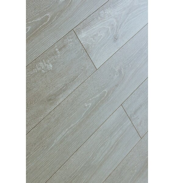 Machu Picchu 8 x 49 x 12mm Laminate Flooring in Gray (Set of 4) by Christina & Son