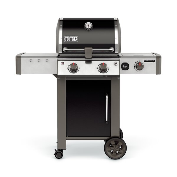 Genesis II LX E-240 2-Burner Natural Gas Grill with Side Burner by Weber