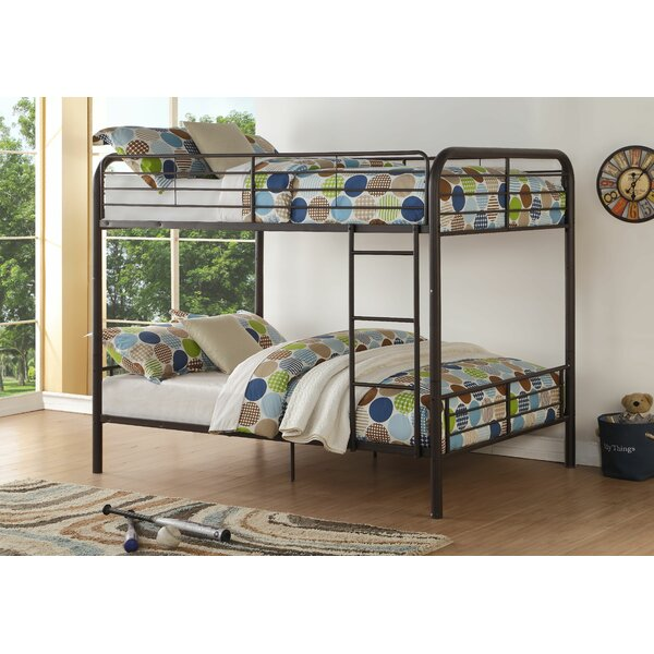 Dominik Full over Full Slat Bunk Bed by Harriet Bee