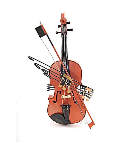 Decorative Vintage Violin 1:2 by Old Modern Handicrafts