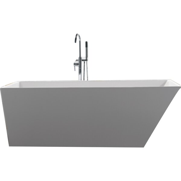 Scarlet 59 x 31.5 Soaking Bathtub by Jade Bath