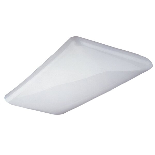 Decorative Cloud High-Output LED Semi Flush Mount by NICOR Lighting