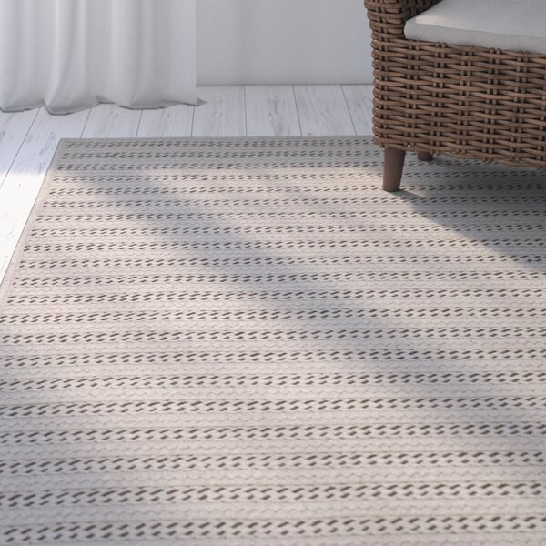 Tidewater Reversible Hand-Woven Natural Area Rug by Rosecliff Heights