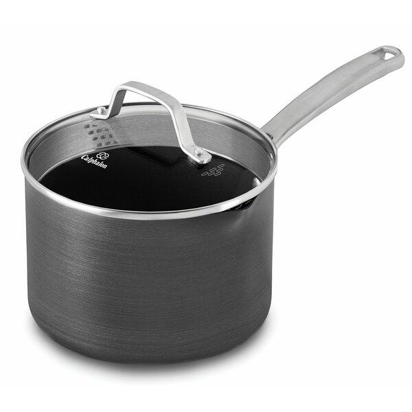 Non-Stick 3.5-qt. Saucepan with Lid (Set of 2) by Calphalon