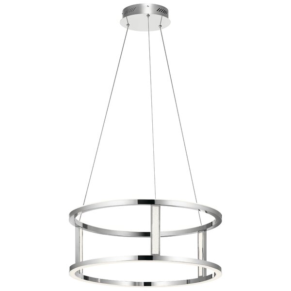 Bopp 6-Light LED Unique / Statement Chandelier by Orren Ellis
