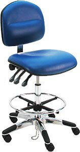 Ergonomic Adjustable ESD Anti Static Swivel Drafting Chair by Symple Stuff