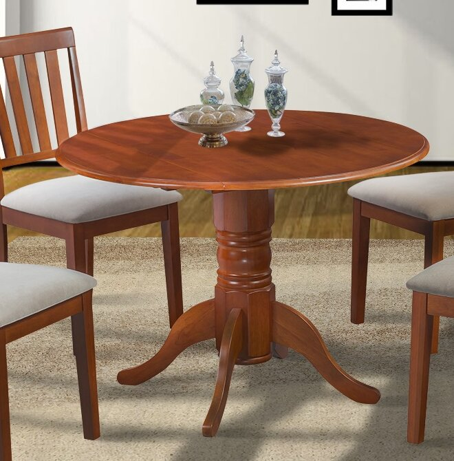 Alcott Hill Chesterton Drop Leaf Dining Table & Reviews | Wayfair