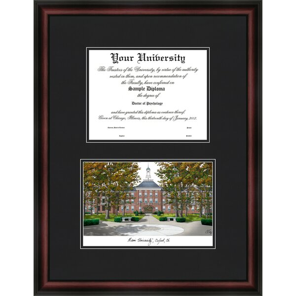 NCAA University Diplomate Diploma Picture Frame by Campus Images