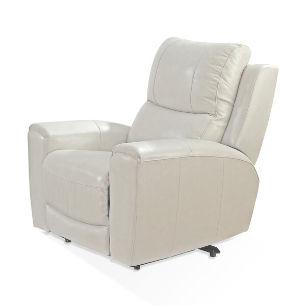 Palmateer Leather Power Recliner [Red Barrel Studio]