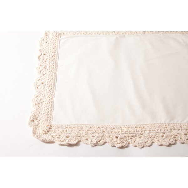 Crochet Placemat (Set of 4) by Amity Home