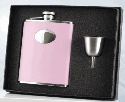 Hip Flask and Funnel Gift Set by Visol Products