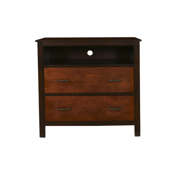 num 2 Drawer Chest Bedroom Media Chests