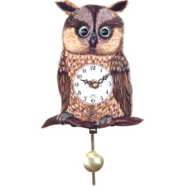 Battery-Operated Wood Cuckoo Clock by Loon Peak