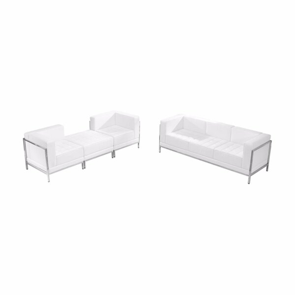 Bella 4 Piece Living Room Set by Orren Ellis