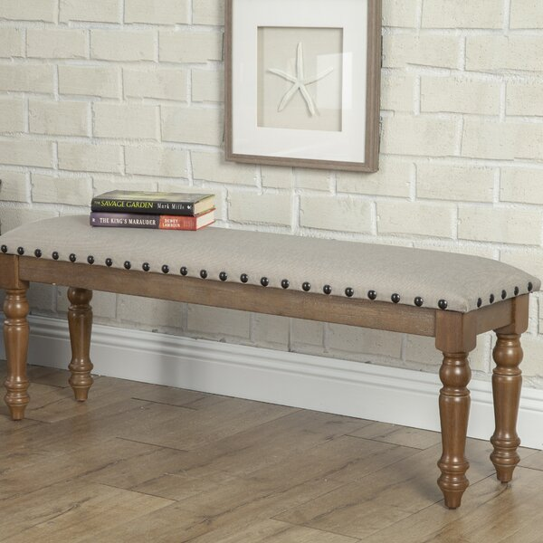 Shirke Wood Bench By One Allium Way Sale