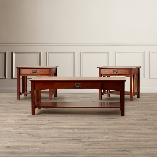 Harvel 3 Piece Coffee Table Set By Darby Home Co
